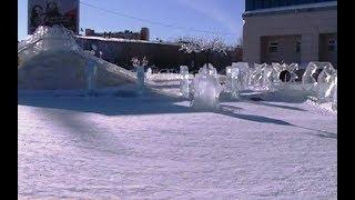 Стала известна дата демонтажа ледового городка в Салехарде