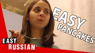 Making Russian pancakes | Super Easy Russian 14
