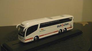 oxford diecast 76irz001 scania irizar pb bus eireann eurolines 1 76 scale review hd