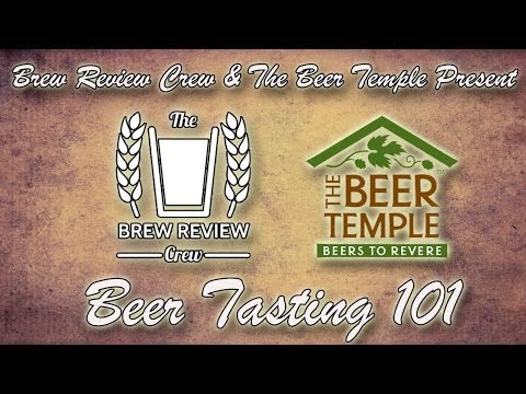 How to Taste Beer - Train Your Palate w/ Cicerone Chris Quinn of The Beer Temple - Brew Review Crew