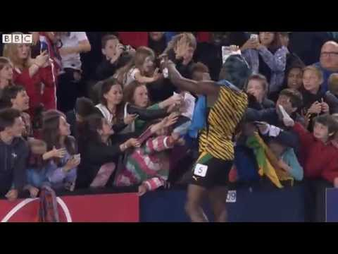 Usain Bolt Dances To The Proclaimers Before 4x100 Metres Gold