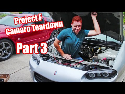 Project F L67 Camaro Teardown Part 3 (It's coming down to the wire!)