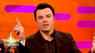 Seth MacFarlane And Mark Wahlberg Sing The Thunder Buddy Song - The Graham Norton Show