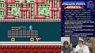 We Play Your Mega MAN Maker Levels Live! #16