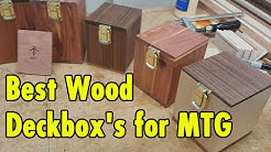 Best Wood Deckbox for Magic The Gathering and TCC Games - xBeau Gaming