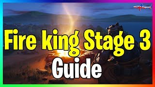 *NEW* STAGE 3 FIRE KING SKIN UNLOCK LOCATION GUIDE FORTNITE BATTLE ROYALE