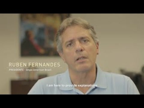 Message from Ruben Fernandes,  CEO of Anglo American in Brazil about the pipeline leak
