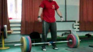 Norik Vardanian 160kg (352lbs) Snatch for a double