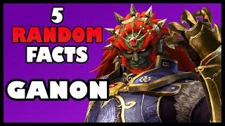 5 Random FACTS - Ganon/Ganondorf (The Legend of Zelda)