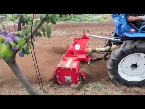 Trattore usato iseki tx1510 con fresa prova su campo for Trattori agricoli usati in sardegna