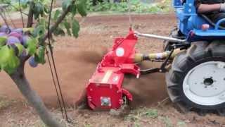 trattore usato iseki tx1510 con fresa prova su campo Sardegna -Cavalliecavalli Srl