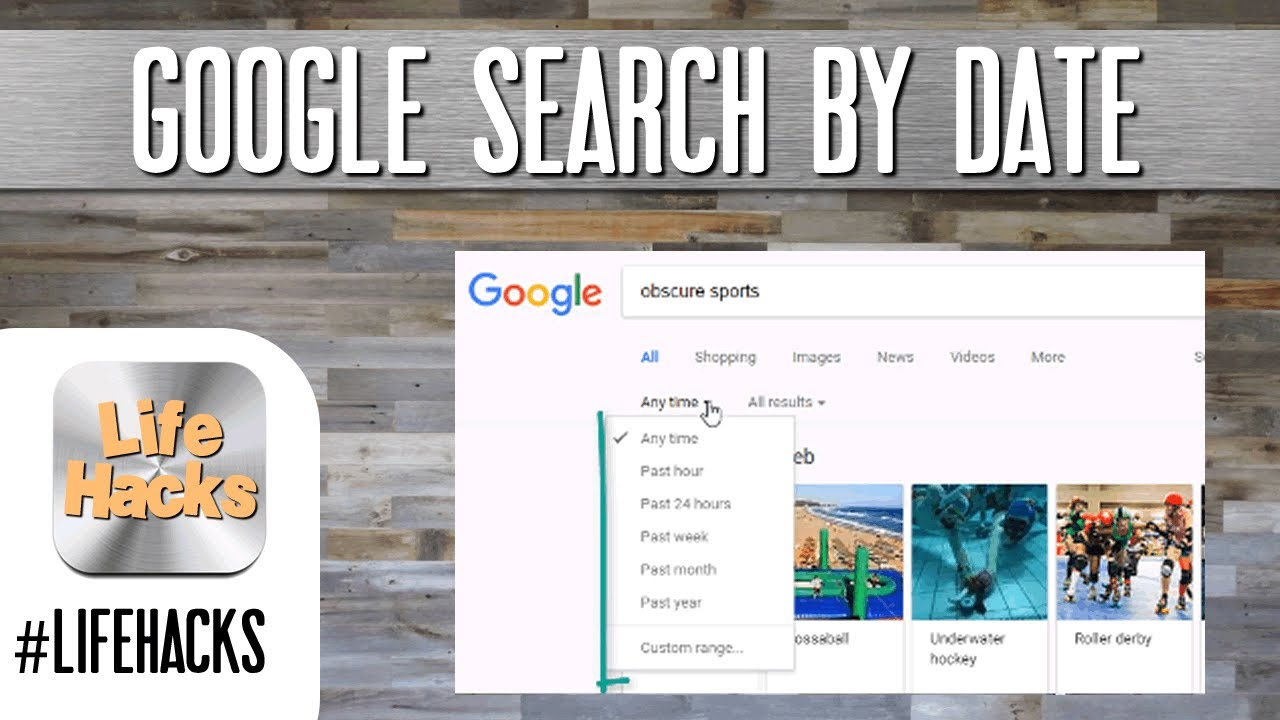Search efficiently using Google Search by Date Tool #Lifehacks