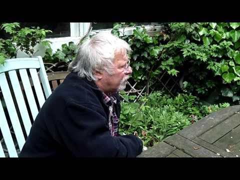Bill Oddie watching spring wildlife during filming #AskBillOddie