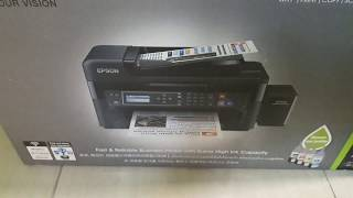 Epson l565 printer unboxing and review