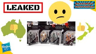 STAR WARS LEAKED INFO ABOUT NEW ACTION FIGURES IN STORES ACROSS THE WORLD & EPIC FINDS EXCLUSIVE VC