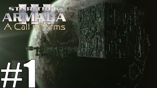 Lets Play Star Trek Armada 3: A Call to Arms as Borg Part 1 WE ARE THE BORG