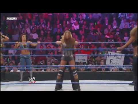 Beth Phoenix  Glam Slam on Eve Torres