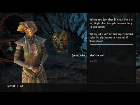 Elder Scrolls Online - Ambitious Argonian Slave (1/3)
