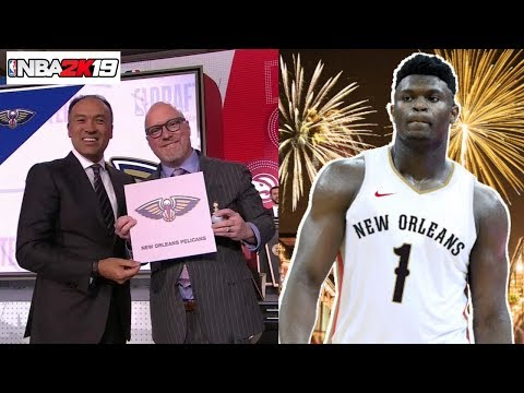 How To Use The 2019 NBA Draft Lottery Results And Draft Class In NBA 2K19