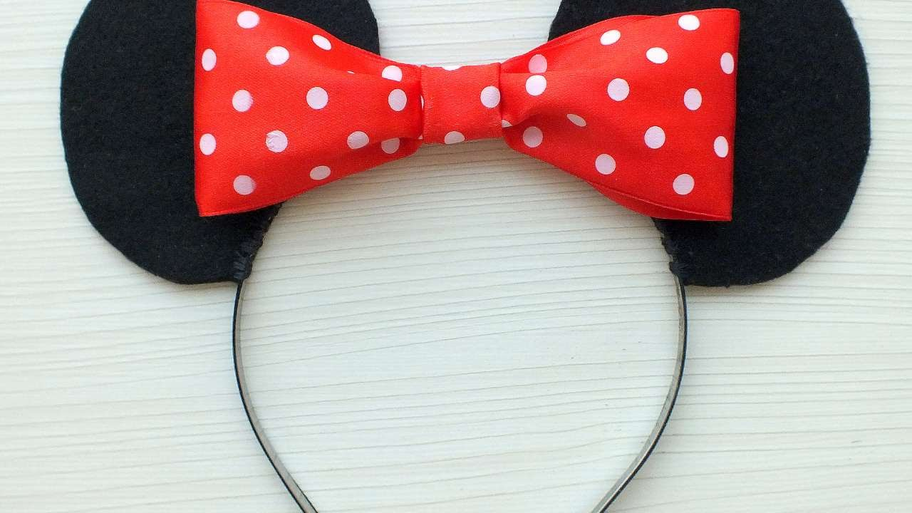 How To Make A Minnie Mouse Headband Diy Crafts Tutorial