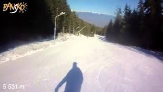 The most longest track(10km) in Bansko, Bulgaria(2013-2014)(Видео самой длинной трассы №1 по случаю посещения горнолыжного курорта Банско, Болгария/The video most longest track..., 2014-01-04T17:39:41.000Z)