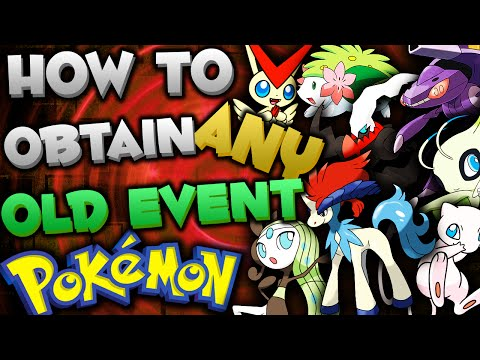 GET OLD EVENT POKEMON *NEW EVENTS* in Omega Ruby & Alpha Sapphire (Event Pokemon Distridution 2016)