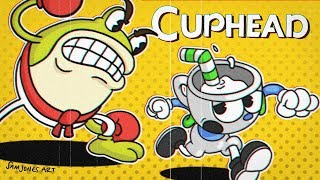BasicallyIRage - Cuphead! THIS GAME IS SO DIFFICULT!
