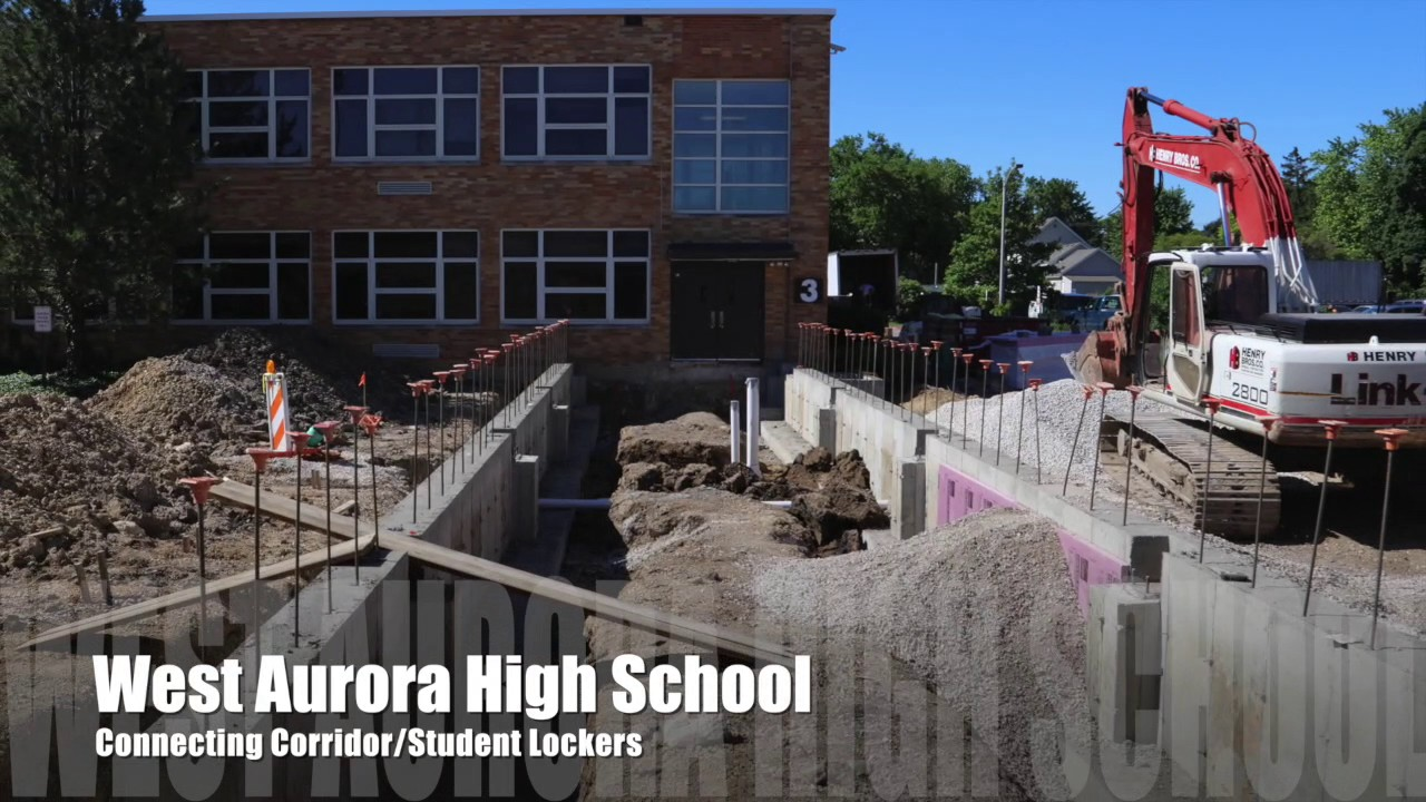 School District 129 Construction Update As Of March 2017 Youtube