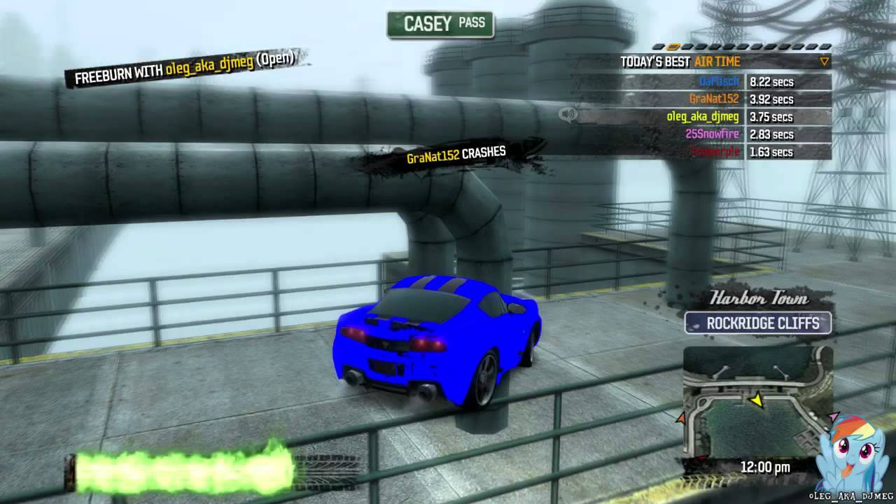 Burnout Paradise - Glitches for fun