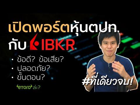 """รีวิว """"เปิดพอร์ต"""" หุ้นต่างประเทศกับ Interactive Brokers (IBKR)"""