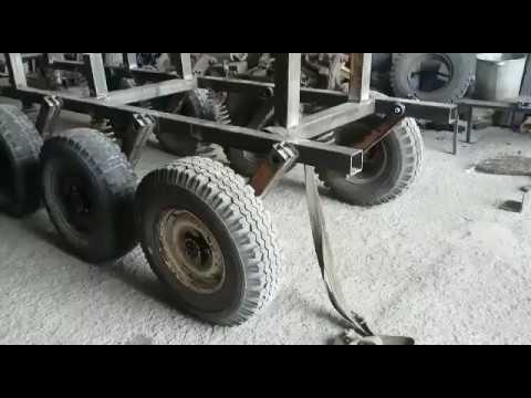 Гусеничная платформа на колесах от Уаза