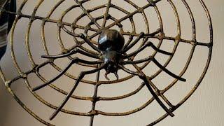 Паук из металла своими руками