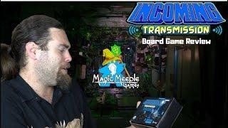 Incoming Transmission - Kickstarter - Board Game Review