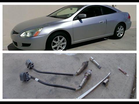 How to Replace O2 Sensor 2003-2007 Honda Accord  – Code P0134 & P2243