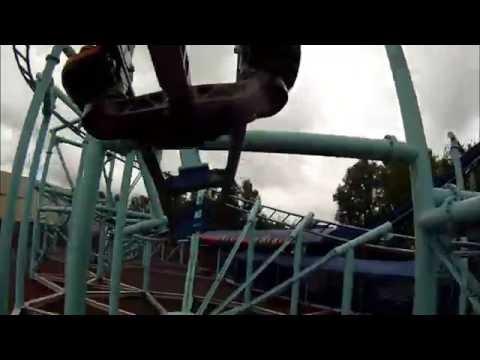 Jimmy Neutron's Atomic Flyer Onride - Movie Park Germany