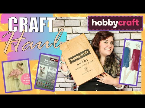 I Spent Money On A CRAFT HAUL June 2020! | Unboxing Craft Kits & Supplies!