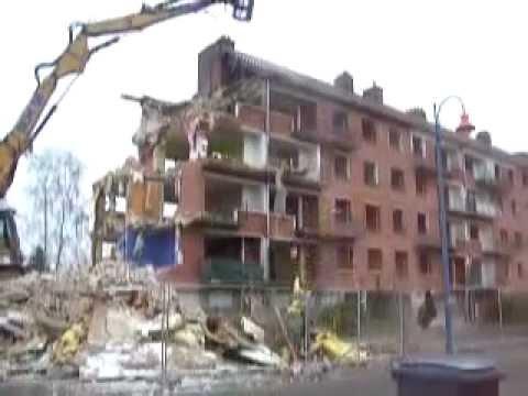LE BUILDING ET LA RESIDENCE HERMITAGE NE SONT PLUS.