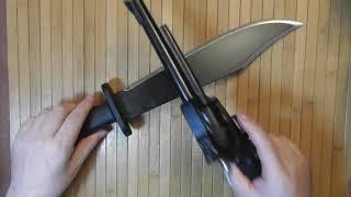 револьвер и нож Боуи, комплект #1