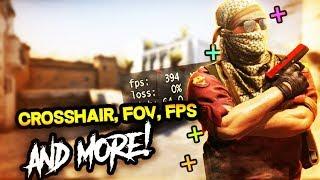 fANTSTICO MOD para Counter Strike Source Crosshair, HUD, FOV, FPS y ms! (v34)