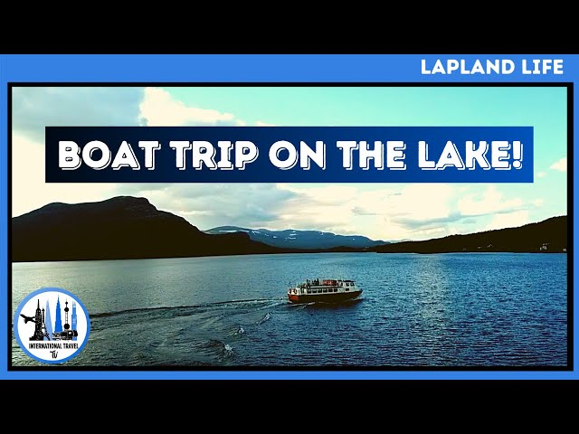 Boat trip to borders Sweden Norway Finland. Things to do in Lapland in summer.
