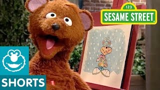 Sesame Street: Super Snowman with Hero Guy and Baby Bear