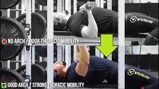 COMPLETE Thoracic Mobility Routine- For Bench, Deadlifts and Squats.