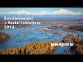 Patagonia's Environmental and Social Initiatives Booklet