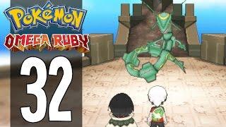 Pokemon Omega Ruby - Part 32 - Catching Rayquaza (Gameplay Walkthrough)