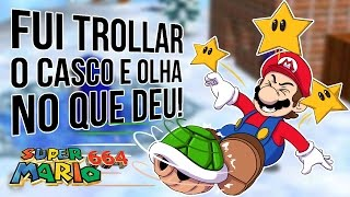 FUI TROLLAR O CASCO E OLHA NO QUE DEU! - SUPER MARIO 664 #04