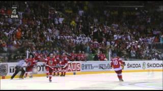 MS 2011 Česko Vs. Rusko - Roman Červenka gól na 5:3 (Utkání o bronz)