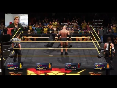 WWE 2K20 Online - THE CRAZIEST ENDING TO A MATCH SO FAR