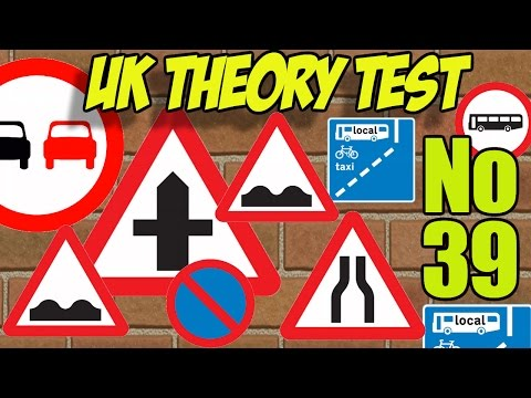 Theory Test No 39 - UK Theory Test Questions - Highway Code Revision
