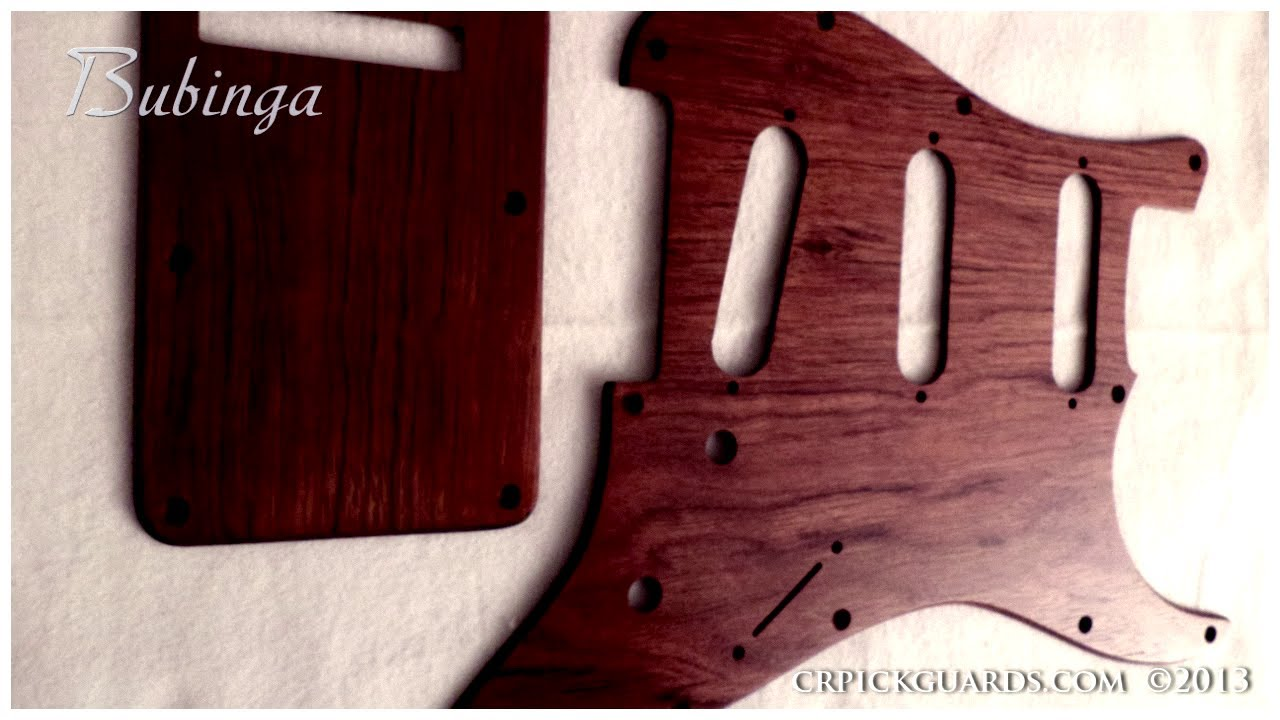 Wood pickguards custom made youtube sciox Images