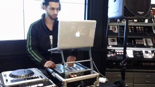 DJ Cruel ONE at Macys Herald Square, NYC